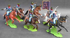 Union Cavalry Colored troops
