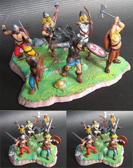 Vikings, diorama set