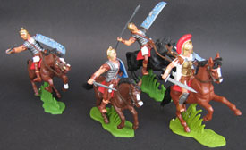 Mounted Romans